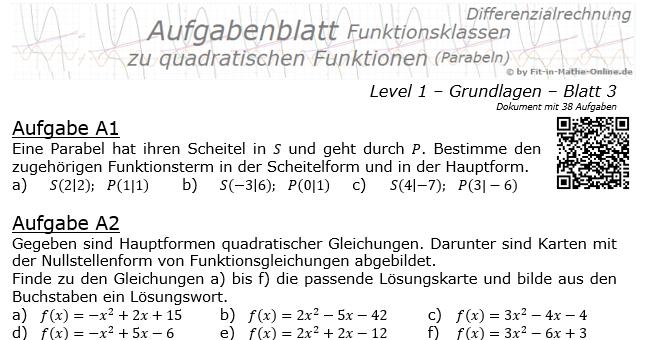 Textaufgabe quadratische gleichung
