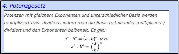 Tooltip des 4. Potenzgesetzes (Potenzen mit gleichem Exponenten Grundlagen Blatt 2/© by www.fit-in-mathe-online.de)