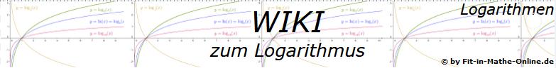 WIKI  Logarithmus allgemein / © by Fit-in-Mathe-Online.de