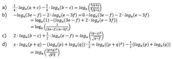 Logarithmengesetze zum Aufgabensatz 3 Blatt 01 © by www.fit-in-mathe-online.de
