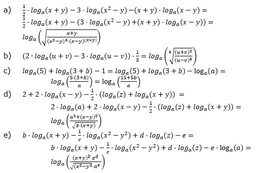 Logarithmengesetze zum Aufgabensatz 3 Fortgeschritten Blatt 01 © by www.fit-in-mathe-online.de