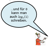 Beispiel 12 zu 'Rechnen von rechts nach links'. (WIKI Logarithmengesetze Bild W0008 / ©  by Fit-in-Mathe-Online.de)