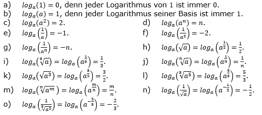 Logarithmus einer Zahl Fortgeschritten Lösungen zum Aufgabensatz 2 Blatt 02 © by www.fit-in-mathe-online.de