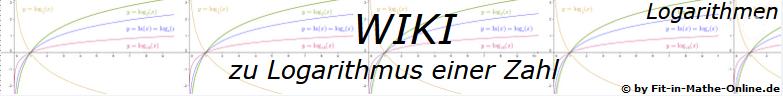 WIKI  Logarithmus einer Zahl / © by Fit-in-Mathe-Online.de