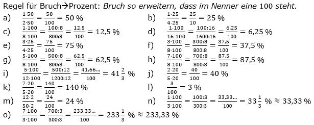 Prozentrechnung allgemein Lösungen zum Aufgabensatz 5 Blatt 1/1 Grundlagen Bild 1/© by www.fit-in-mathe-online.de