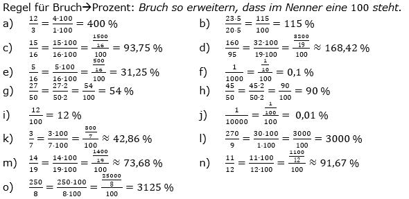 Prozentrechnung allgemein Lösungen zum Aufgabensatz 1 Blatt 1/2 Grundlagen Bild 1/© by www.fit-in-mathe-online.de