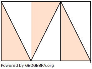 Wie viel Prozent der drei Flächen sind jeweils gefärbt? (Grafik A210903 im Aufgabensatz 9 Blatt 2/1 Fortgeschritten zur Prozentrechnung Basiswissen Bild 3) /© by www.fit-in-mathe-online.de)