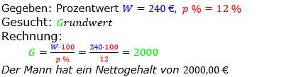 Prozentrechnung Grundwert Lösungen zum Aufgabensatz 2 Blatt 2/1 Fortgeschritten Bild 1/© by www.fit-in-mathe-online.de