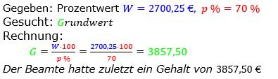 Prozentrechnung Grundwert Lösungen zum Aufgabensatz 4 Blatt 2/1 Fortgeschritten Bild 1/© by www.fit-in-mathe-online.de