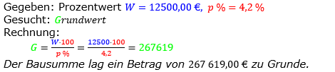 Prozentrechnung Grundwert Lösungen zum Aufgabensatz 7 Blatt 2/1 Fortgeschritten Bild 1/© by www.fit-in-mathe-online.de
