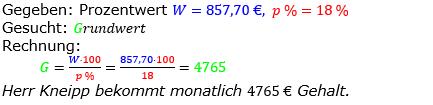 Prozentrechnung Grundwert Lösungen zum Aufgabensatz 9 Blatt 2/1 Fortgeschritten Bild 1/© by www.fit-in-mathe-online.de