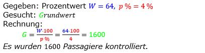 Prozentrechnung Grundwert Lösungen zum Aufgabensatz 14 Blatt 2/1 Fortgeschritten Bild 1/© by www.fit-in-mathe-online.de