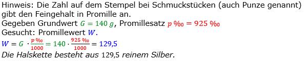 Promillerechnung Lösungen zum Aufgabensatz 7 Blatt 1/2 Grundlagen Bild 1/© by www.fit-in-mathe-online.de