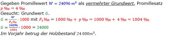 Promillerechnung Lösungen zum Aufgabensatz 8 Blatt 1/2 Grundlagen Bild 1/© by www.fit-in-mathe-online.de