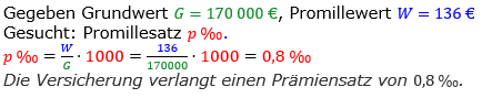 Promillerechnung Lösungen zum Aufgabensatz 2 Blatt 2/1 Fortgeschritten Bild 1/© by www.fit-in-mathe-online.de