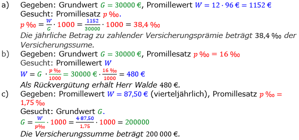 Promillerechnung Lösungen zum Aufgabensatz 5 Blatt 2/1 Fortgeschritten Bild 1/© by www.fit-in-mathe-online.de