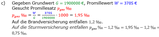Promillerechnung Lösungen zum Aufgabensatz 3 Blatt 2/2 Fortgeschritten Bild 2/© by www.fit-in-mathe-online.de