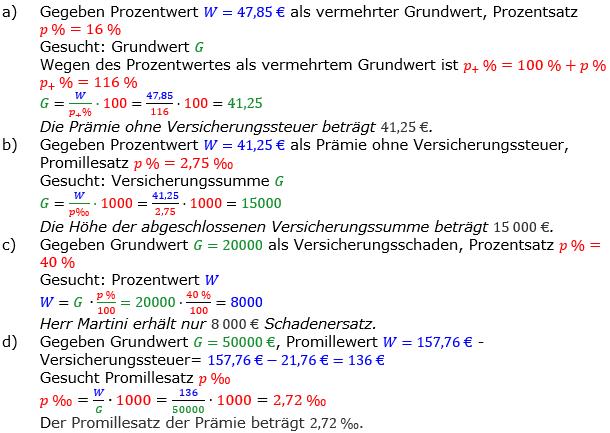 Promillerechnung Lösungen zum Aufgabensatz 4 Blatt 2/2 Fortgeschritten Bild 1/© by www.fit-in-mathe-online.de