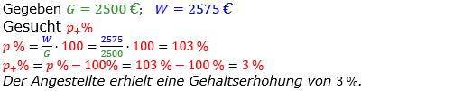 Prozentrechnung Prozentsatz Lösungen zum Aufgabensatz 4 Blatt 1/2 Grundlagen Bild 1/© by www.fit-in-mathe-online.de