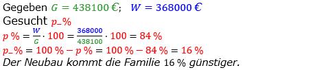 Prozentrechnung Prozentsatz Lösungen zum Aufgabensatz 10 Blatt 1/2 Grundlagen Bild 1/© by www.fit-in-mathe-online.de