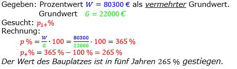 Prozentrechnung Prozentsatz Lösungen zum Aufgabensatz 05 Blatt 2/2 Fortgeschritten Bild 1/© by www.fit-in-mathe-online.de