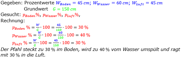 Prozentrechnung Prozentsatz Lösungen zum Aufgabensatz 12 Blatt 2/2 Fortgeschritten Bild 1/© by www.fit-in-mathe-online.de