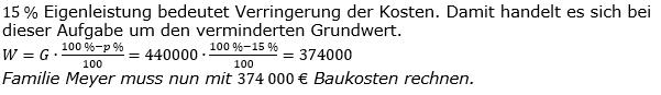 Prozentrechnung Prozentwert Lösungen zum Aufgabensatz 8 Blatt 1/2 Grundlagen Bild 1/© by www.fit-in-mathe-online.de
