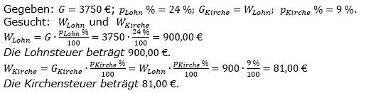 Prozentrechnung Prozentwert Lösungen zum Aufgabensatz 1 Blatt 2/1 Fortgeschritten Bild 1/© by www.fit-in-mathe-online.de