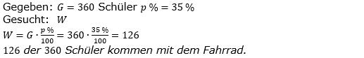 Prozentrechnung Prozentwert Lösungen zum Aufgabensatz 5 Blatt 2/1 Fortgeschritten Bild 1/© by www.fit-in-mathe-online.de