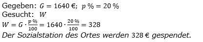 Prozentrechnung Prozentwert Lösungen zum Aufgabensatz 9 Blatt 2/1 Fortgeschritten Bild 1/© by www.fit-in-mathe-online.de