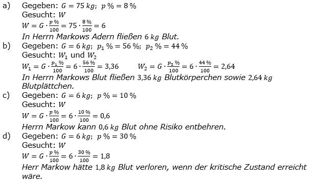 Prozentrechnung Prozentwert Lösungen zum Aufgabensatz 13 Blatt 2/1 Fortgeschritten Bild 1/© by www.fit-in-mathe-online.de