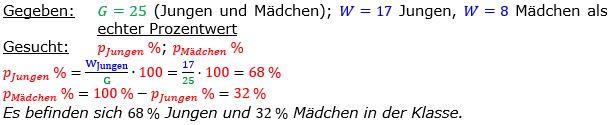 Vermischte Aufgaben der Prozentrechnung Aufgabenblatt 1 Aufgabensatz 01 Bild A1101L01 Lösung Bild 1 /© by www.fit-in-mathe-online.de