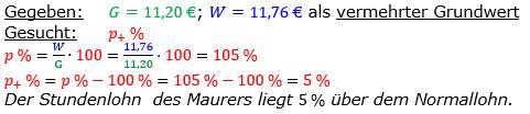 Vermischte Aufgaben der Prozentrechnung Aufgabenblatt 1 Aufgabensatz 08 Bild A1108L01 Lösung Bild 1 /© by www.fit-in-mathe-online.de
