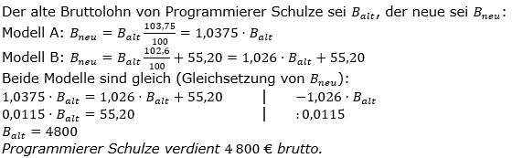Vermischte Aufgaben der Prozentrechnung Aufgabenblatt 3 Aufgabensatz 12 Bild A1312L01 Lösung Bild 1 /© by www.fit-in-mathe-online.de