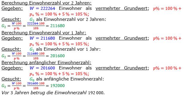 Vermischte Aufgaben der Prozentrechnung Aufgabenblatt 3 Aufgabensatz 19 Bild A1319L01 Lösung Bild 1 /© by www.fit-in-mathe-online.de