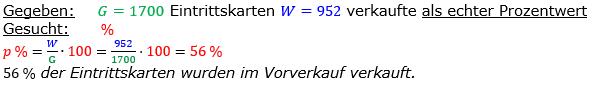 Vermischte Aufgaben der Prozentrechnung Aufgabenblatt 4 Aufgabensatz 03 Bild A1403L01 Lösung Bild 1 /© by www.fit-in-mathe-online.de