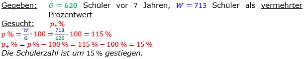 Vermischte Aufgaben der Prozentrechnung Aufgabenblatt 5 Aufgabensatz 11 Bild A1511L01 Lösung Bild 1 /© by www.fit-in-mathe-online.de