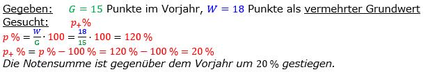 Vermischte Aufgaben der Prozentrechnung Aufgabenblatt 6 Aufgabensatz 02 Bild A1602L01 Lösung Bild 1 /© by www.fit-in-mathe-online.de