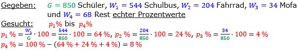 Vermischte Aufgaben der Prozentrechnung Aufgabenblatt 6 Aufgabensatz 12 Bild A1612L01 Lösung Bild 1 /© by www.fit-in-mathe-online.de