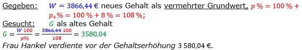 Vermischte Aufgaben der Prozentrechnung Aufgabenblatt 6 Aufgabensatz 14 Bild A1614L01 Lösung Bild 1 /© by www.fit-in-mathe-online.de