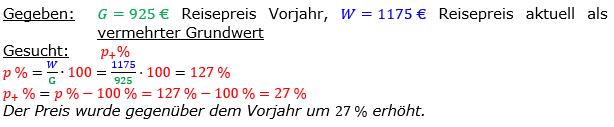 Vermischte Aufgaben der Prozentrechnung Aufgabenblatt 7 Aufgabensatz 04 Bild A1704L01 Lösung Bild 1 /© by www.fit-in-mathe-online.de
