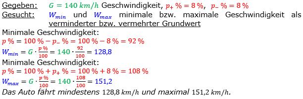 Vermischte Aufgaben der Prozentrechnung Aufgabenblatt 7 Aufgabensatz 05 Bild A1705L01 Lösung Bild 1 /© by www.fit-in-mathe-online.de
