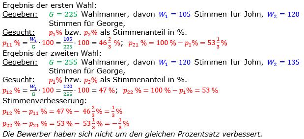 Vermischte Aufgaben der Prozentrechnung Aufgabenblatt 7 Aufgabensatz 15 Bild A1715L01 Lösung Bild 1 /© by www.fit-in-mathe-online.de