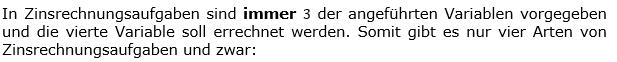 Einleitungstext 02 in den Berechnungs-WIKIs zu Kapital, Zinssatz und Zeitfaktor der Zinsrechnung. (Grafik WALL002 /© by www.fit-in-mathe-online.de)