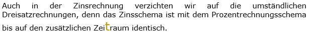 Einleitungstext 04 in den Berechnungs-WIKIs zu Kapital, Zinssatz und Zeitraum der Zinsrechnung. (Grafik WALL004 /© by www.fit-in-mathe-online.de)