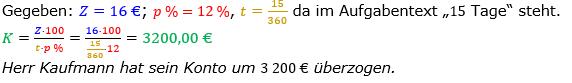 Zinsrechnung Kapital berechnen Lösungen zum Aufgabensatz 06 Blatt 2/1 Fortgeschritten Bild A2106L01/© by www.fit-in-mathe-online.de