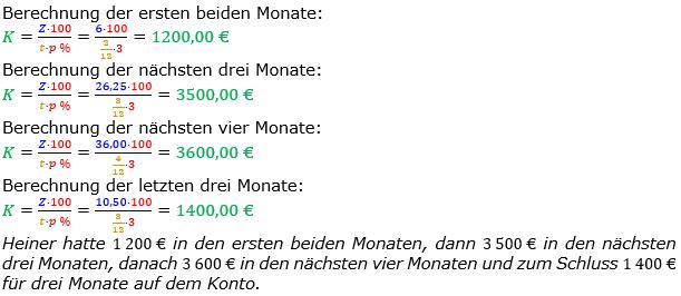 Zinsrechnung Kapital berechnen Lösungen zum Aufgabensatz 07 Blatt 2/1 Fortgeschritten Bild A2107L01/© by www.fit-in-mathe-online.de
