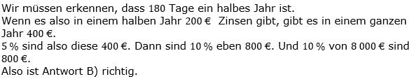 Zinsrechnung Kapital berechnen Lösungen zum Aufgabensatz 08 Blatt 2/3 Fortgeschritten Bild A2308L01/© by www.fit-in-mathe-online.de