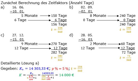 Zinsrechnung Kapital berechnen Lösungen zum Aufgabensatz 02 Blatt 3/2 Expert Bild A3202L01/© by www.fit-in-mathe-online.de