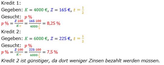 Zinsrechnung vermischte Aufgaben Lösungen zum Aufgabensatz 03 Blatt 02 Bild A0203L01/© by www.fit-in-mathe-online.de